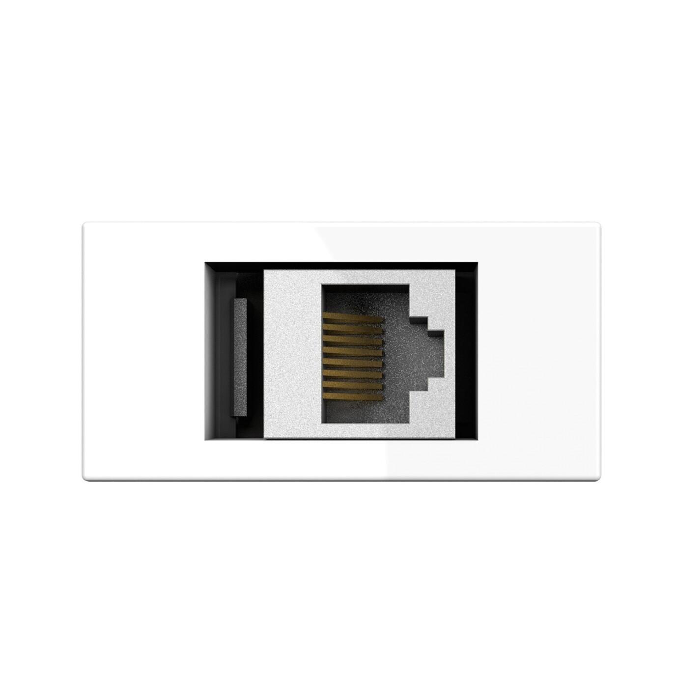 Kindermann Konnect flex 45 click Cat-6 (RJ45)