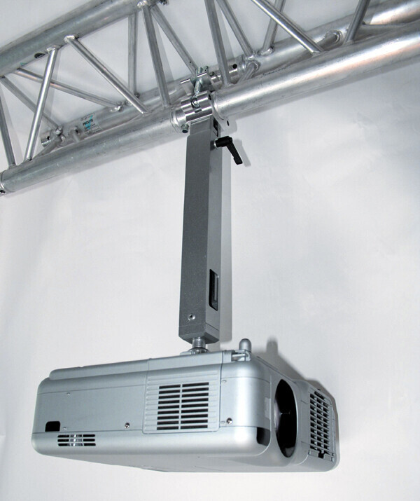 PeTa soporte de techo para vigas de metal (Trusses) - longitud variable 70-130 cm - blanco