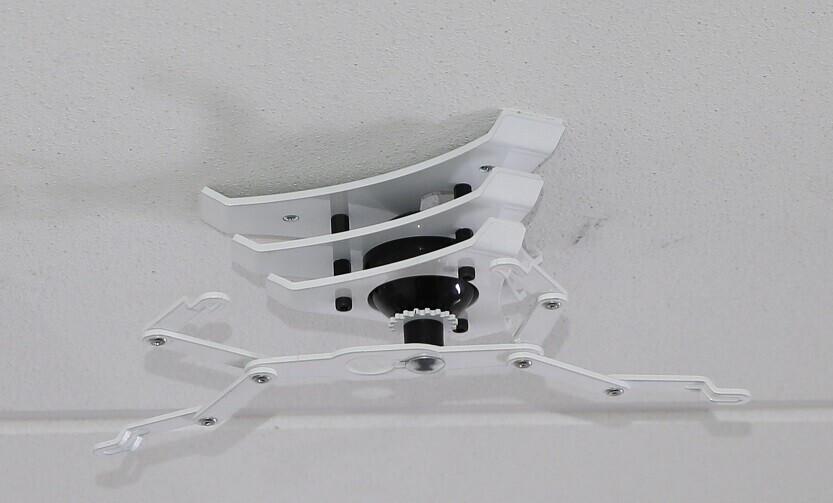 PeTa Deckenhalterung Design Home, Stahl pulverbeschichtet, 40-70cm