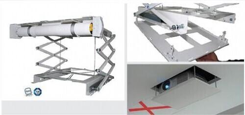 PeTa plafondlift ULTRA PLAT- met Clic out plaat hub 800 mm