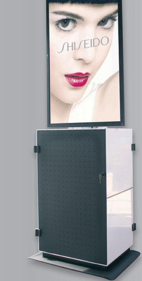 PeTa multimedia cabinet PUR - portrait format