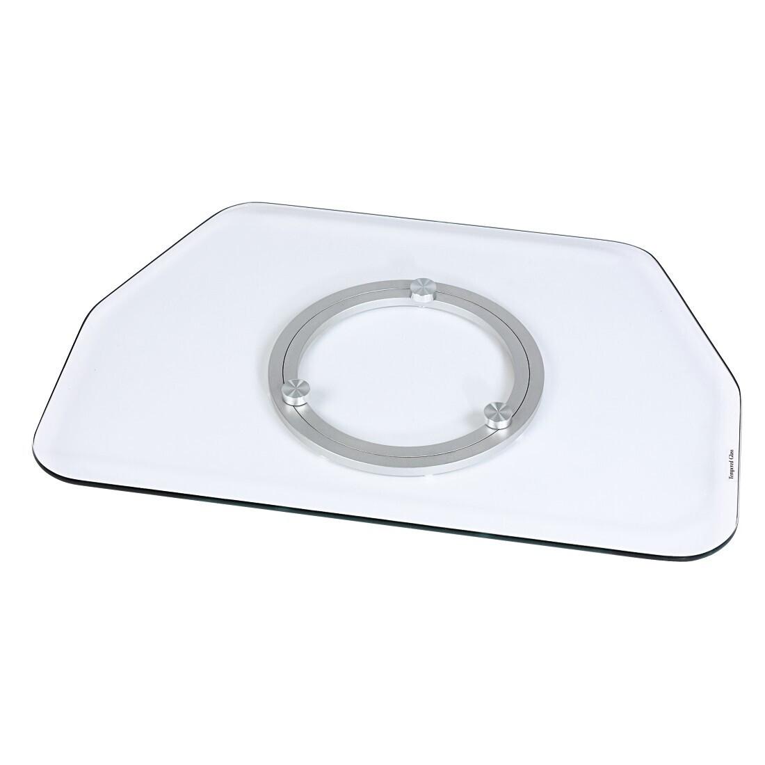 Hama LCD-/Plasma-TV-Drehteller, Glas, Klar,  bis 42