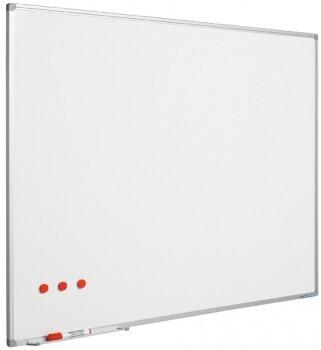 SMIT Visual Weißwandtafel Softline aluProf 8mm stahlemailliert weiß 60x90cm