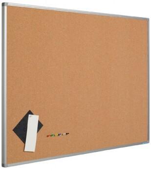 Smit Visual Pinntafel Softline aluProf 8mm, Presskork, 60x90cm