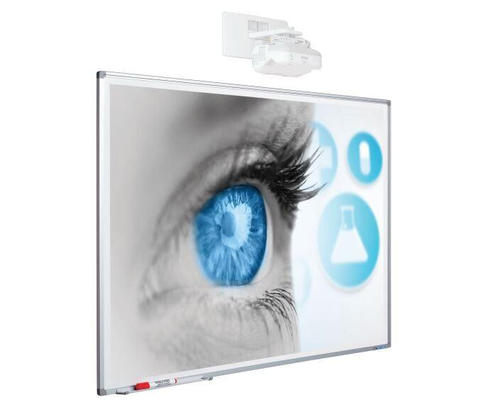 Tableau blanc de projection Smit, Softline Profil 120 x 230 cm