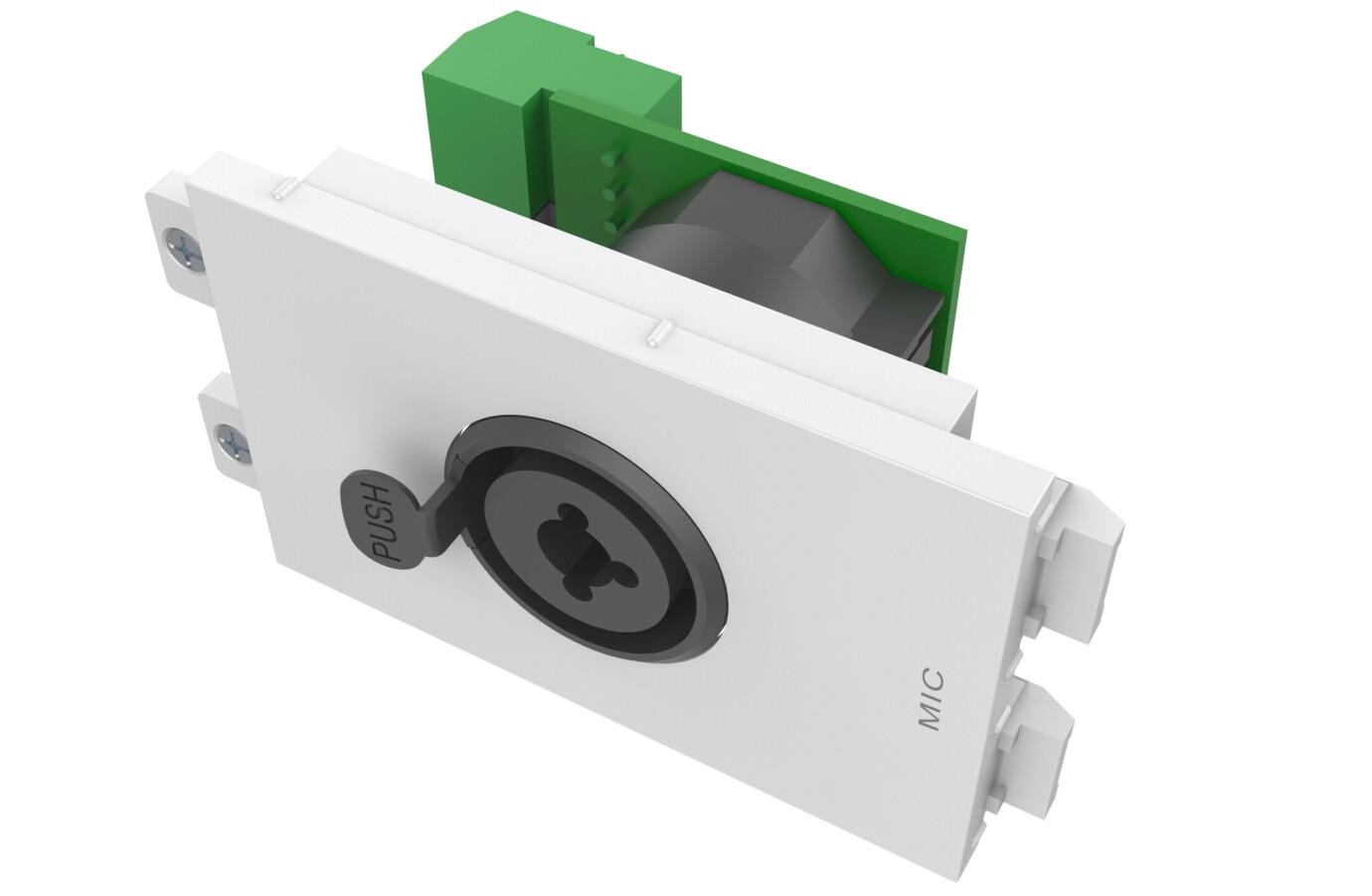 Vision TC2 XLRFJACK Hun-XLR og 6,3mm- modulo hembra