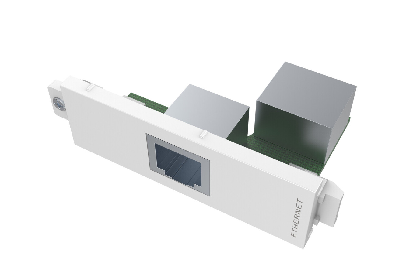 VISION TechConnect 3 RJ45 module - modulares Faceplate-Snap-In