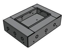 APart CMR4BBI - Einbaugehäuse für CMR15T