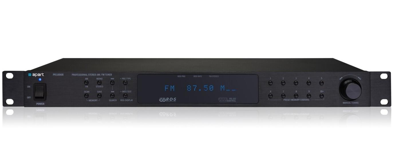 APart PR1000R - FM/AM RDS Mottagare