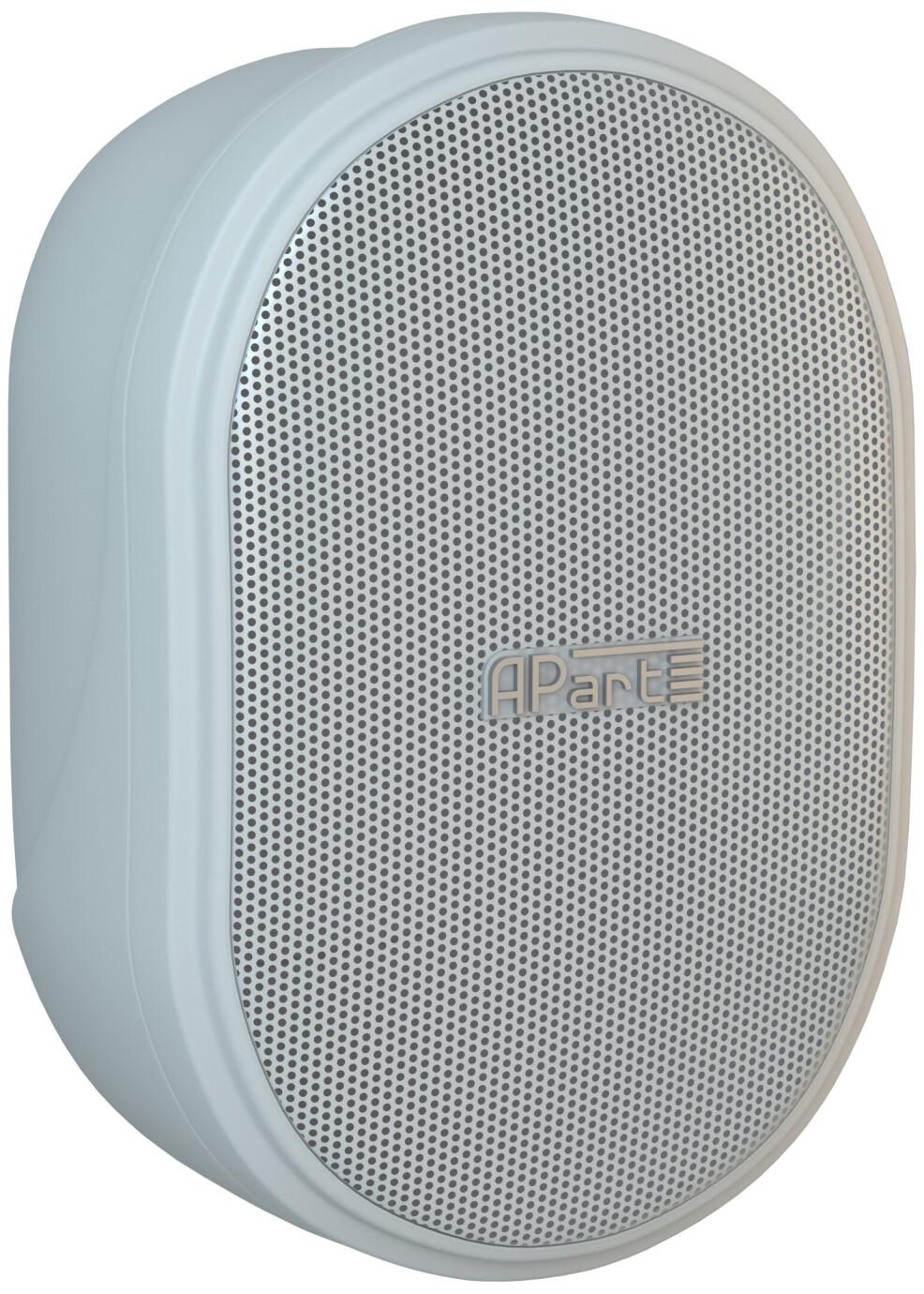 APart OVO3T / 1 par - 100 V 40 W compacto altavoz - Blanco