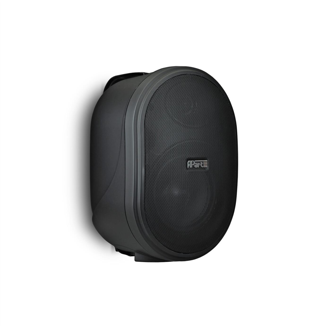 APart OVO5T Lautsprecher / 1 Paar - 80 W 100 V Standard - schwarz