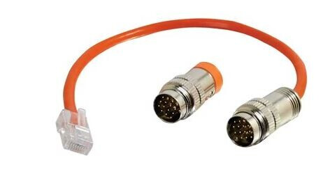RapidRun Multi-Format Runner Cable (Orange) Test Adapter Cable, 30 cm