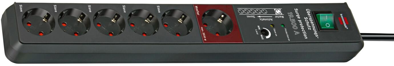 Brennenstuhl Secure-Tec 19.500 A Überspannungsschutz-Automatiksteckdosenleiste