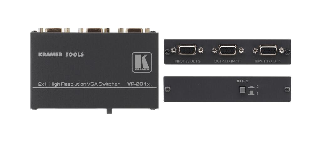 Kramer VP-201xl 2x1 VGA/UXGA Conmutador