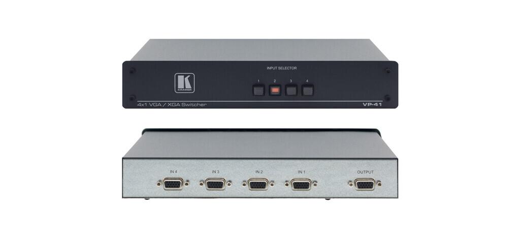 Kramer VP-41 4x1 VGA/UXGA Conmutador