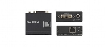 Kramer PT-572HDCP+ Emisor DVI-CAT / Receptor (1x CAT a 1x DVI)