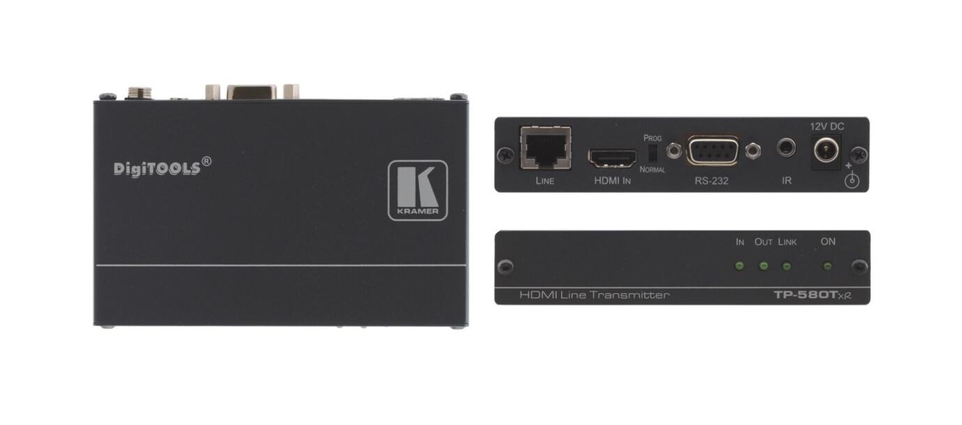 Kramer TP-580TXR HDMI-HDBaseT sändare / transmitter (1x HDMI till 1x HDBaseT)