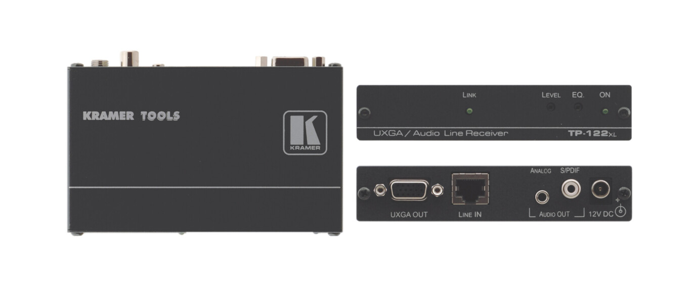 Kramer TP-122xl XGA & Stereoton Twisted Pair Receiver