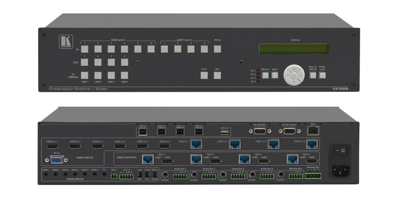 Kramer VP-558 11x4 Präsentations-Scaler/Matrixschalter