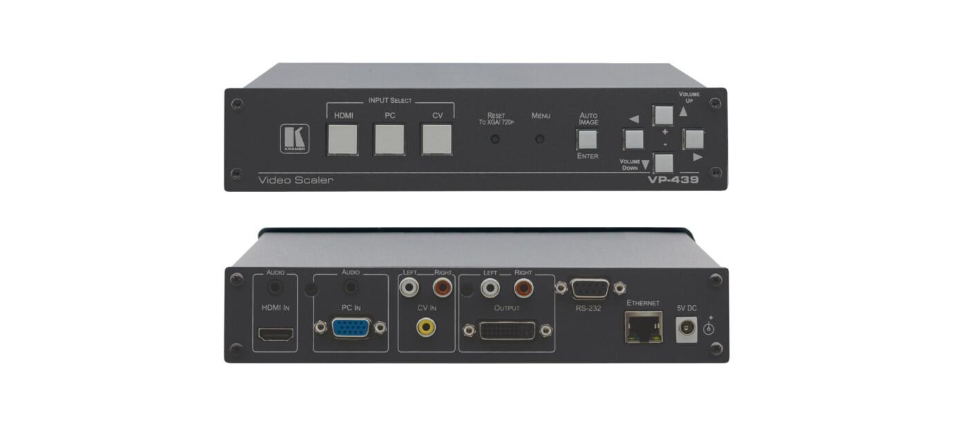 Kramer VP-439 Digitaler ProScale Scaler für HDMI, PC und CV in HDMI