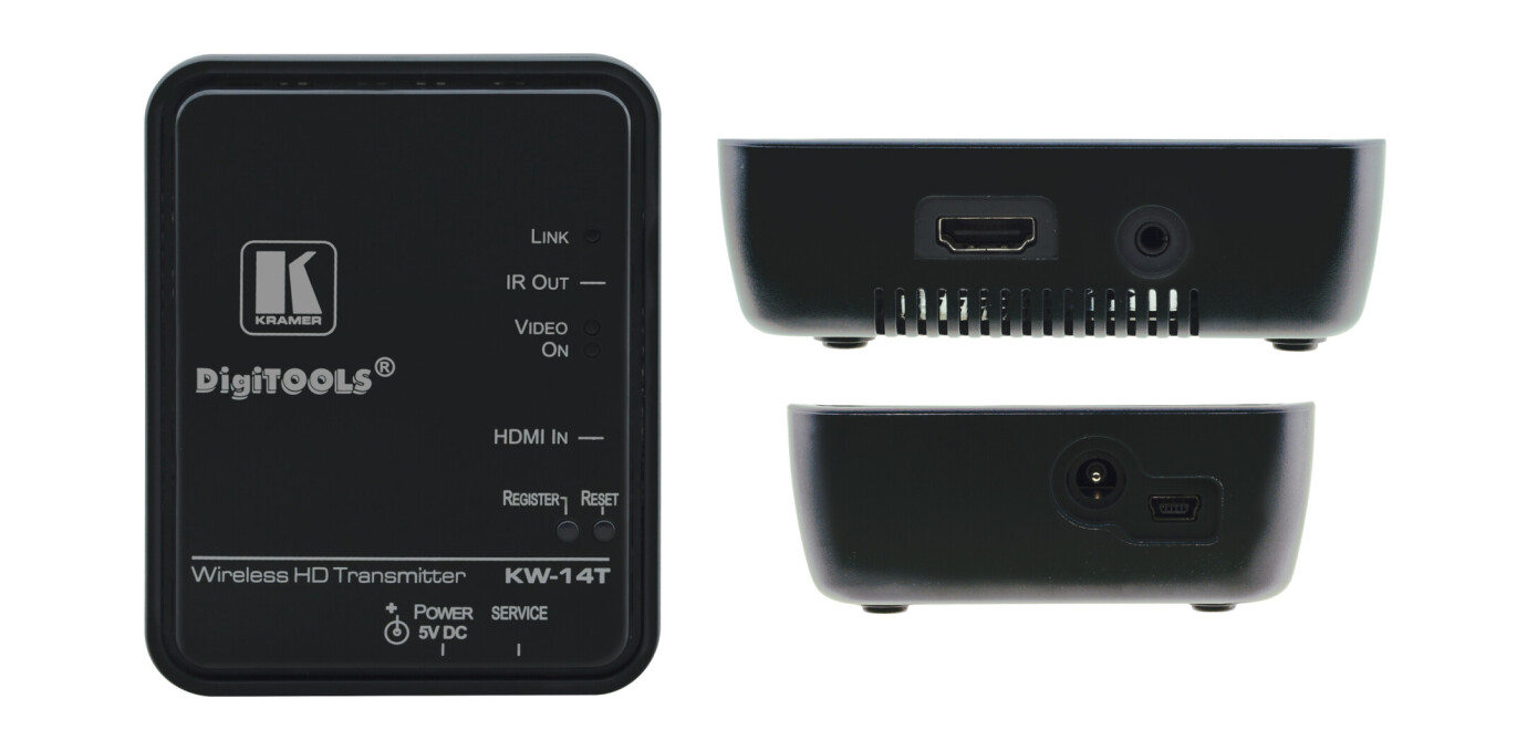 Kramer KW-14 Sistema de transmision inalambrico expandible de alta definicion HDMI