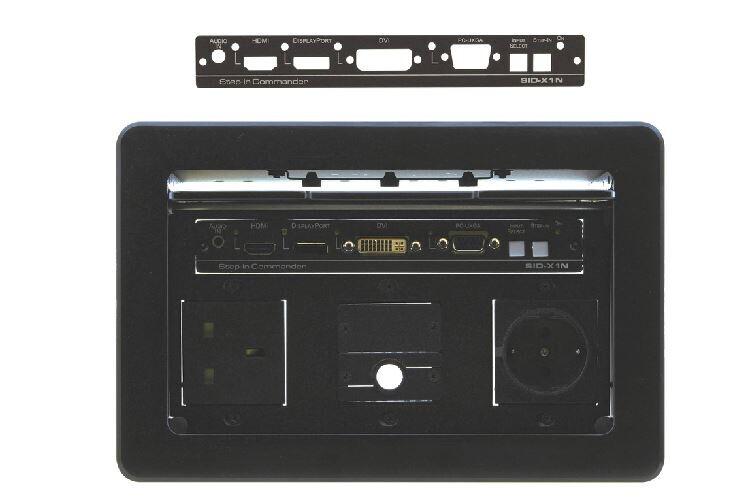 Kramer SID-XBP Schwarzes Frontpanel für die SID-X2N Geräteserie