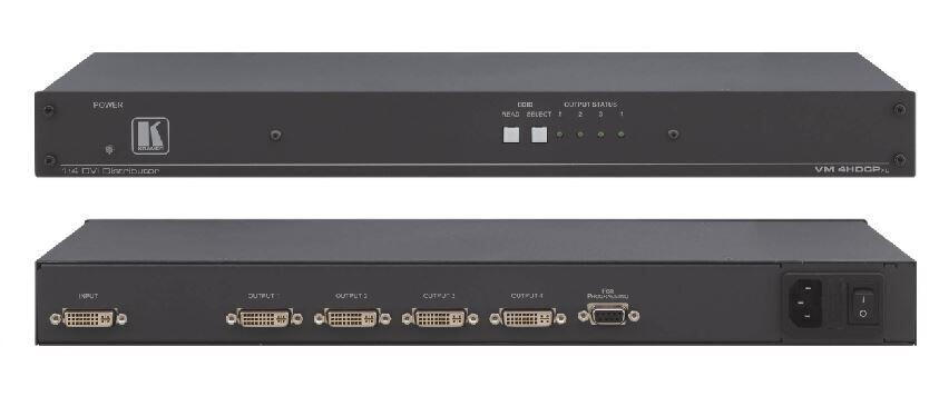 Kramer VM-4HDCPxl 1:4 Verteilverstärker für DVI (HDCP)