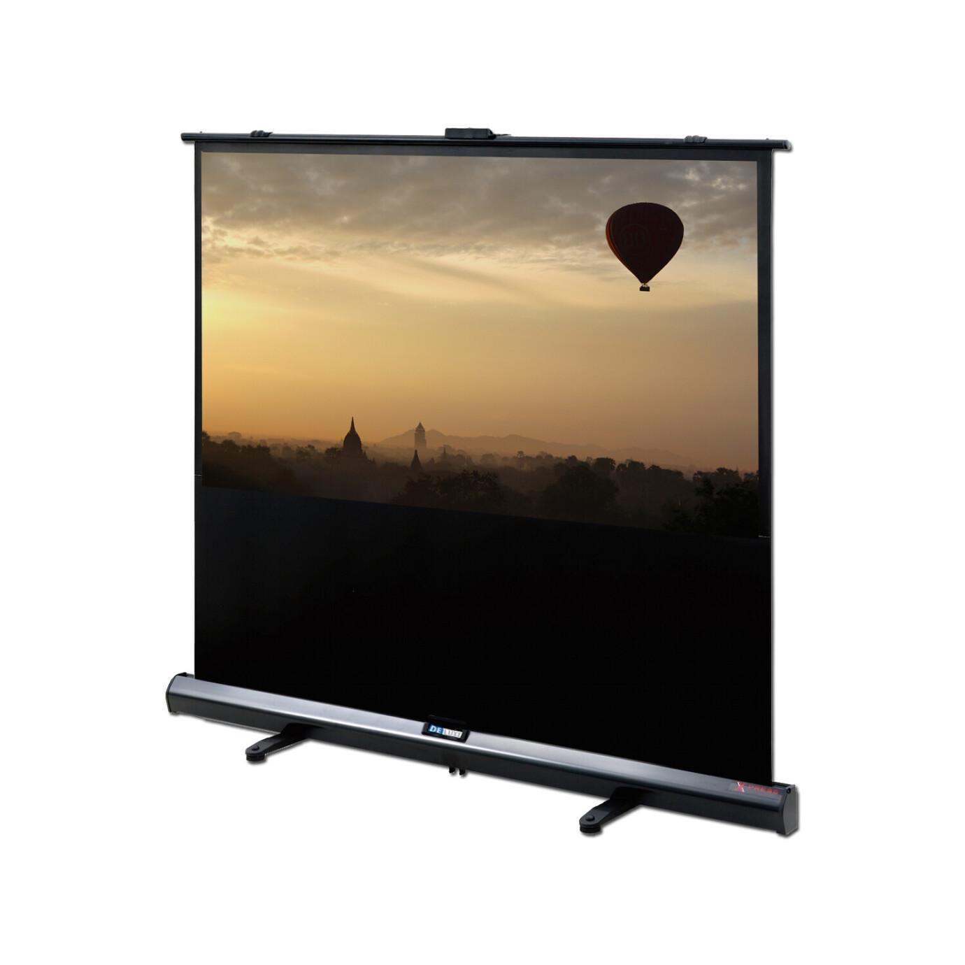Écran de projection mobile DELUXX Expert Portable Self-Stand-X 16:9 Blanc Mat Polaro 186 x 105