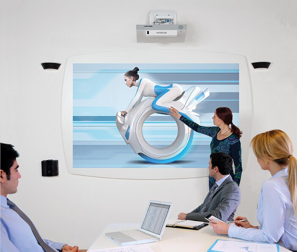Cloudboard avec surface de projection blanche mate 95