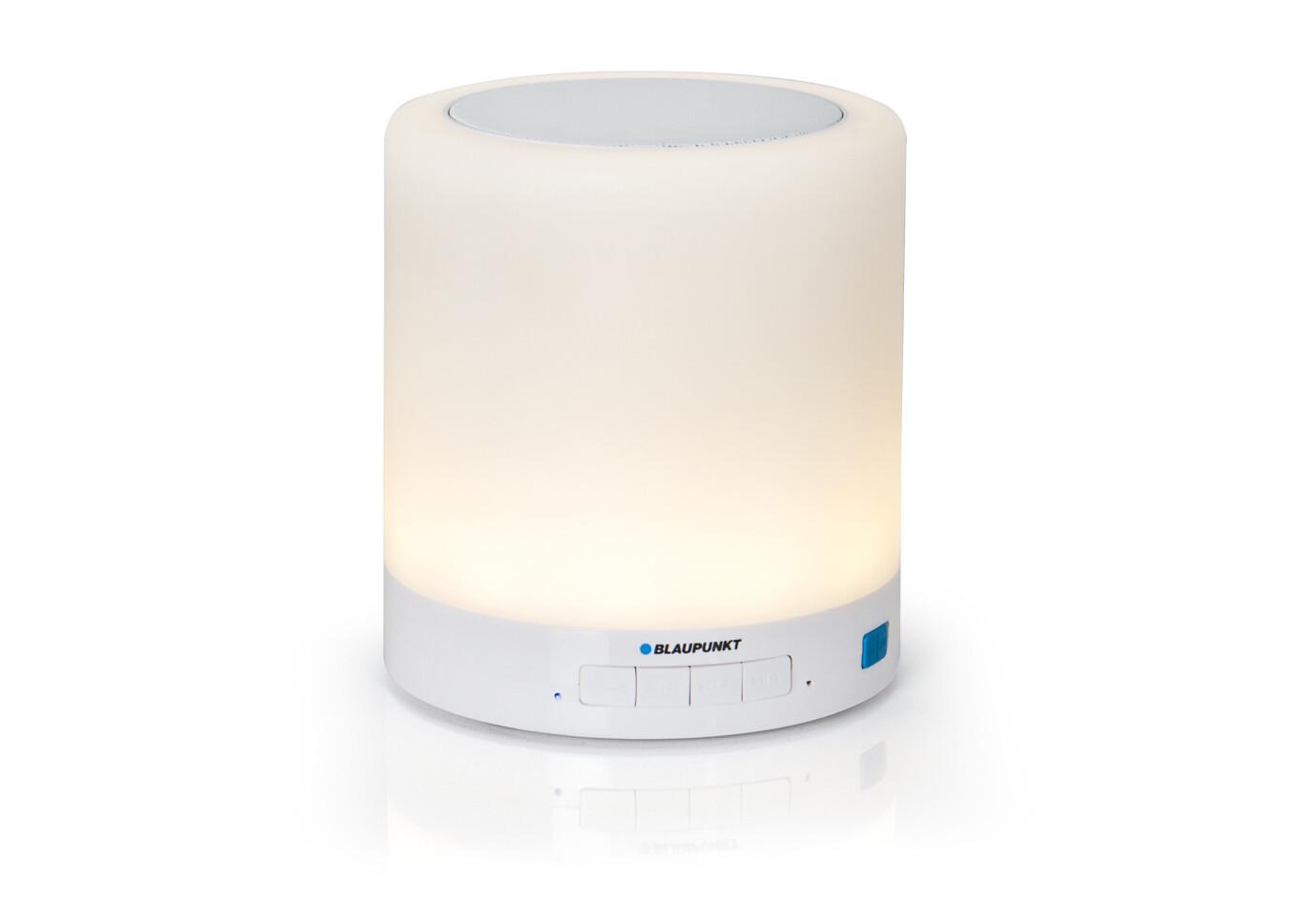 Blaupunkt Haut-parleur Bluetooth avec lumière ambiante LED BTL 100