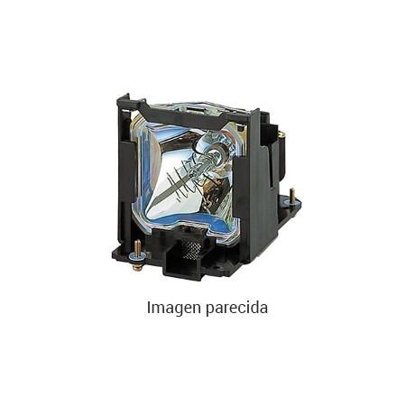lámpara de recambio para Toshiba TLP-620, TLP-S200, TLP-S201, TLP-T400, TLP-T400U, TLP-T401, TLP-T401U, TLP-T500, TLP-T500U, TLP-T501, TLP-T501U, TLP-T600, TLP-T700 - módulo compatible (sustituye: TLPLW1)