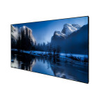 "DELUXX Cinema High Contrast Fixed frame Screen SlimFrame 243 x 136cm, 110"" - DARKVISION"