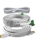 Lot de câbles TC3 professionnels 15 m