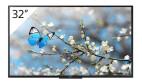 Sony FWD-32WE615/T  BRAVIA con sintonizzatore TV