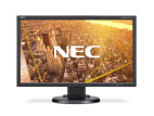 NEC MultiSync E233WMi, svart
