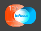 InFocus INS-CONX50Y1 ConX, video Meeting 50 participantes, 1 año de suscripción