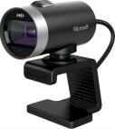 Webcam Microsoft LifeCam Cinema pour entreprises, HD, 30fps, USB 2.0, certifiée Skype