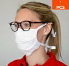 celexon provisorisk mun- och näsmask Premium 100% bomull, flera lager, EkoTex100