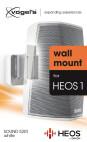 Vogels SOUND 5201 - Lautsprecher-Wandhalterung für Denon HEOS 1 (Weiß)