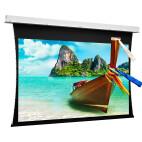 Projecta Descender Electrol- schermo da incasso tensionato, 340 x 150 cm, 2.35:1, bianco opaco