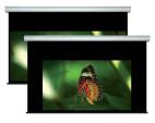 Écran de projection WS Spalluto 2 formats, 21:9+16:9, 274 cm de largeur, multiformat motorisé