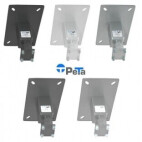 PeTa ceiling mount Standard with locking lever, fixed length 25cm