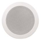 "APart CM4T - 4"" dual cone 100v ceiling speaker - White"