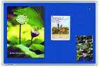 Legamaster Pinboard UNIVERSAL, Textil blau 90 x 120 cm