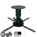 DELUXX soporte de techo Profi-Line 15 cm negro