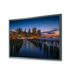 DELUXX Professional - schermo a cornice 16:19 Frame Pro, bianco opaco Vision 225 x 126 cm