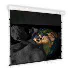 DELUXX schermo motorizzato Cinema Elegance Tension 16:9 contrasto grigio Varico 335 x 189 cm
