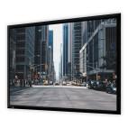 DELUXX Professional schermo a cornice Plano 16:9 bianco opaco Vision, 169 x 95 cm