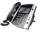 Polycom Microsoft Skype für Business/Lync edition VVX 600 16-line Desktop Phone mit HD Voice