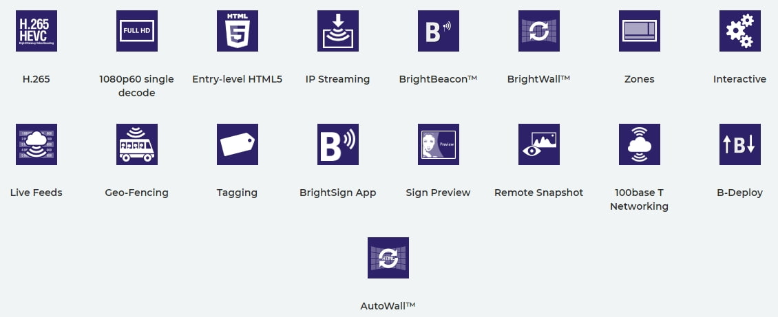 BrightSign Features